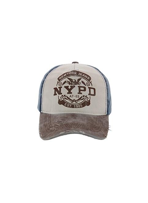 Laslusa NYPD Beyzbol Cap Şapka Lacivert